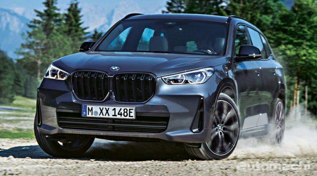 BMW X1 大改款内外大革新,预计2022年登场!