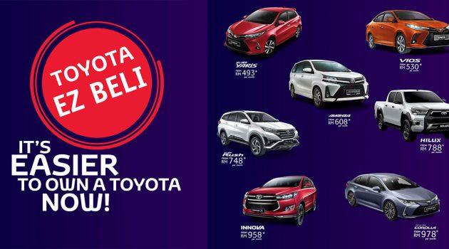 Toyota Malaysia 最新融资配套,Yaris 每月只需RM 493!