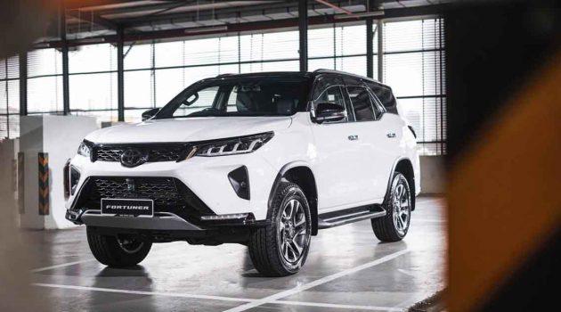 2021 Toyota Fortuner 正式发表,售价RM 167,357.40 起跳