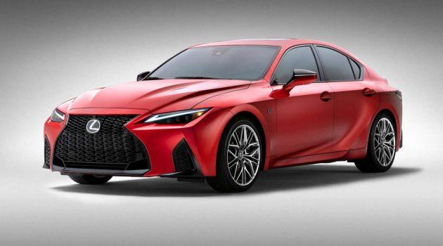 2022 Lexus IS500 震撼发布,V8 NA 引擎爆发472Hp,4.5秒破百!