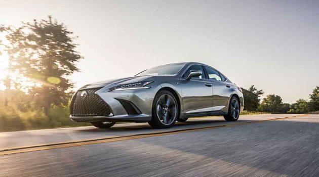 Lexus ES250 AWD 美国开售,操控表现更进步!