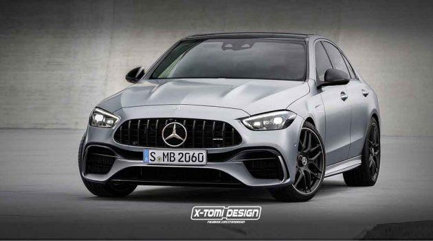 Mercedes-AMG C63 大改款马力将达到550 Hp大关!