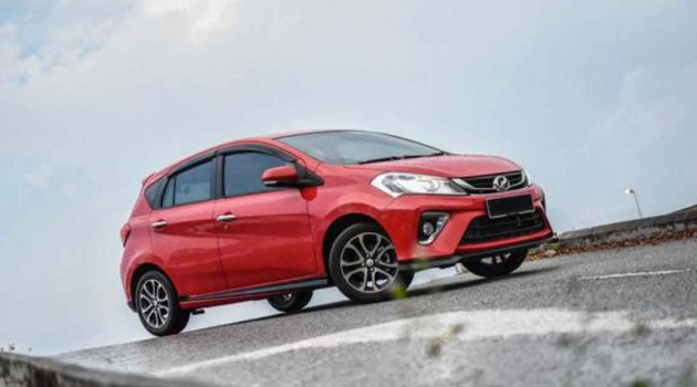 热门二手车推荐: Perodua Myvi