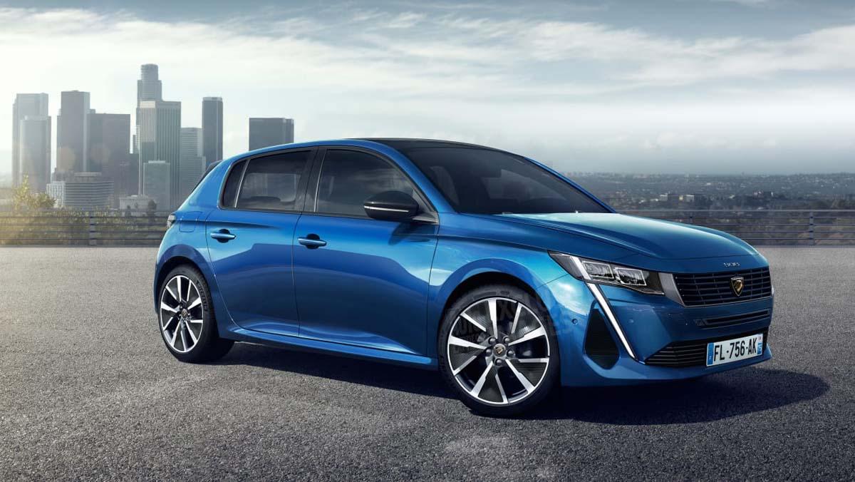Peugeot 308 大改款下月登场,并换上全新厂徽!