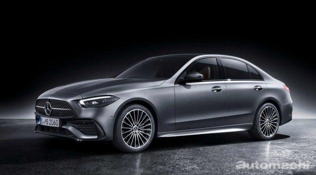 2021 Mercedes-Benz C-Class 正式发表,更具科技奢华气息!