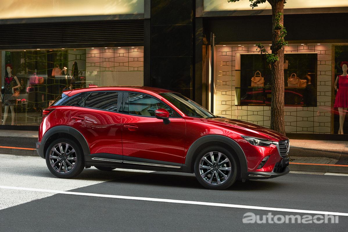 2021 Mazda CX-3 发布,先进安全配备再升级