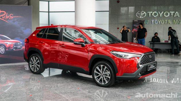 2021 Toyota Corolla Cross 大马发布,售价由 RM 124,000 起跳!(内附影片)
