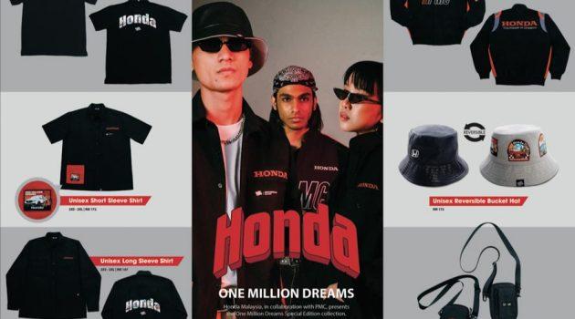 Honda Shopee 官网上架 1 Million Dream 限量版周边产品,4月1日开卖!
