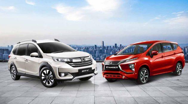 Honda BR-V VS Mitsubishi Xpander ,7人车怎么选(影片+分析)?