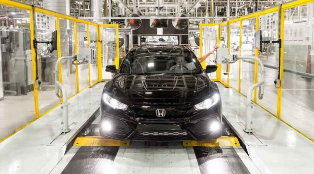 Honda Civic Type R 回归日本生产,本田 Swindon 工厂出售!