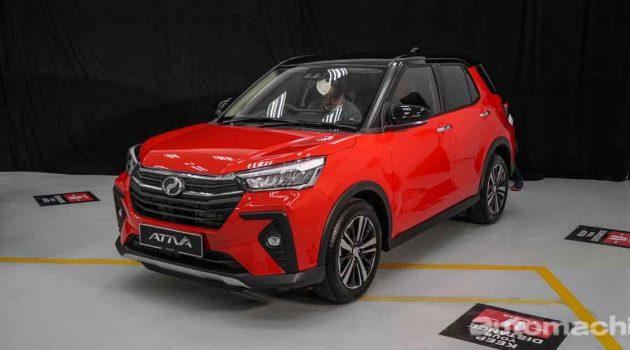 Perodua Ativa 正式发布,售价从RM 61,500起跳(影片+图库)