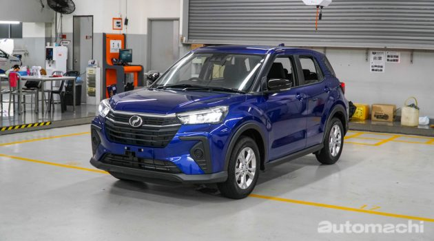 图库:2021 Perodua Ativa X,我国最便宜的 Turbo SUV!