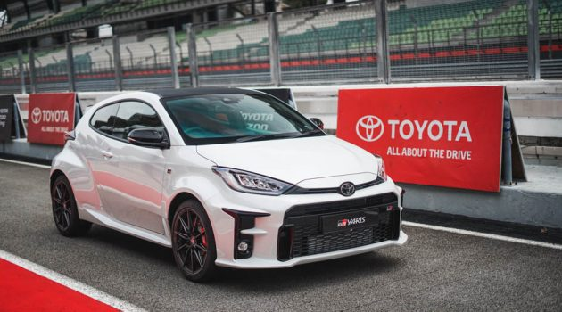 Toyota GR Yaris 入围2021年度最佳性能车五强榜单,实力辗压德系对手!