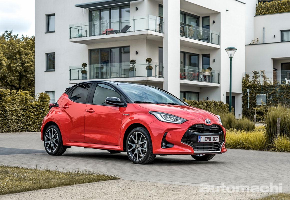 Toyota Yaris 获得欧洲年度风云车大奖!