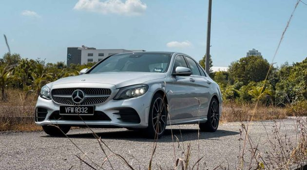 Mercedes-Benz C300 AMG Line ,魅力依旧不减!