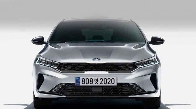 2021 Kia K3 小改款现身,化身迷你版 K5 !
