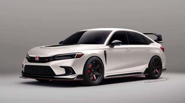 2022 Honda Civic 改装渲染图,你觉得怎么样?