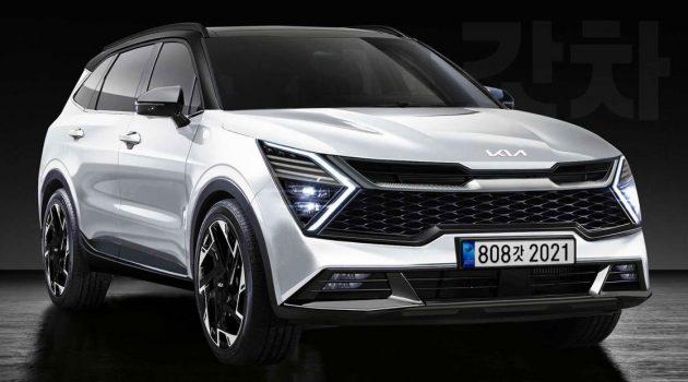 2022 Kia Sportage 设计假想图曝光,这样的外形你喜欢吗?