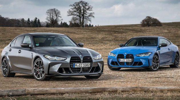 2022 BMW M3 和 M4 M xDrive 版本正式登场!