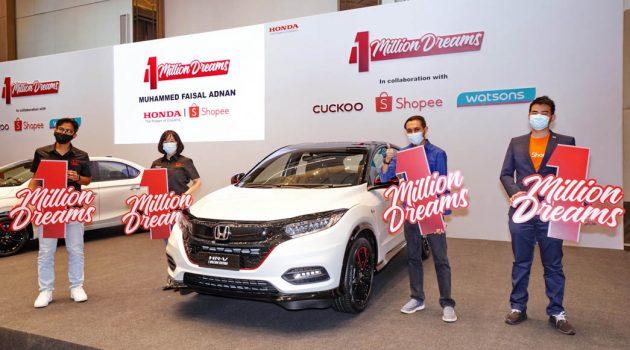 """Honda Malaysia 宣布 """"1 Million Dream Campaign""""最后三位获奖者!"""