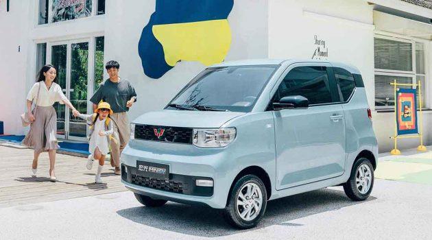 Hongguang MINI EV 让你知道电动车也可以如此便宜!