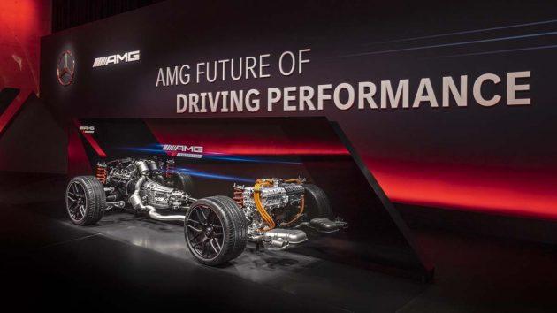 Mercedes-AMG C63 ,2.0L Hybrid也超强!