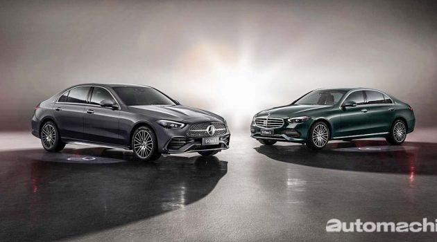 2021 Mercedes-Benz C-Class L 登场,车身尺码更大!