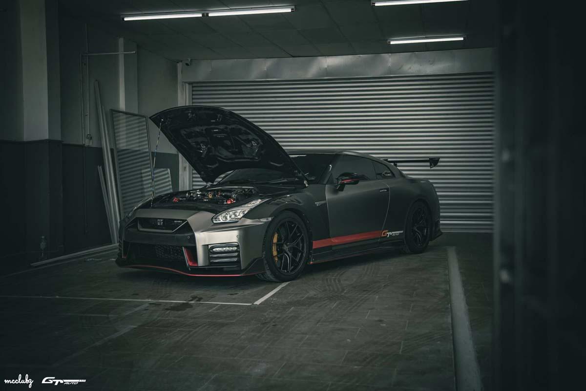 Nissan GTR 本土改装案例,马力超1000 Hp的怪兽!