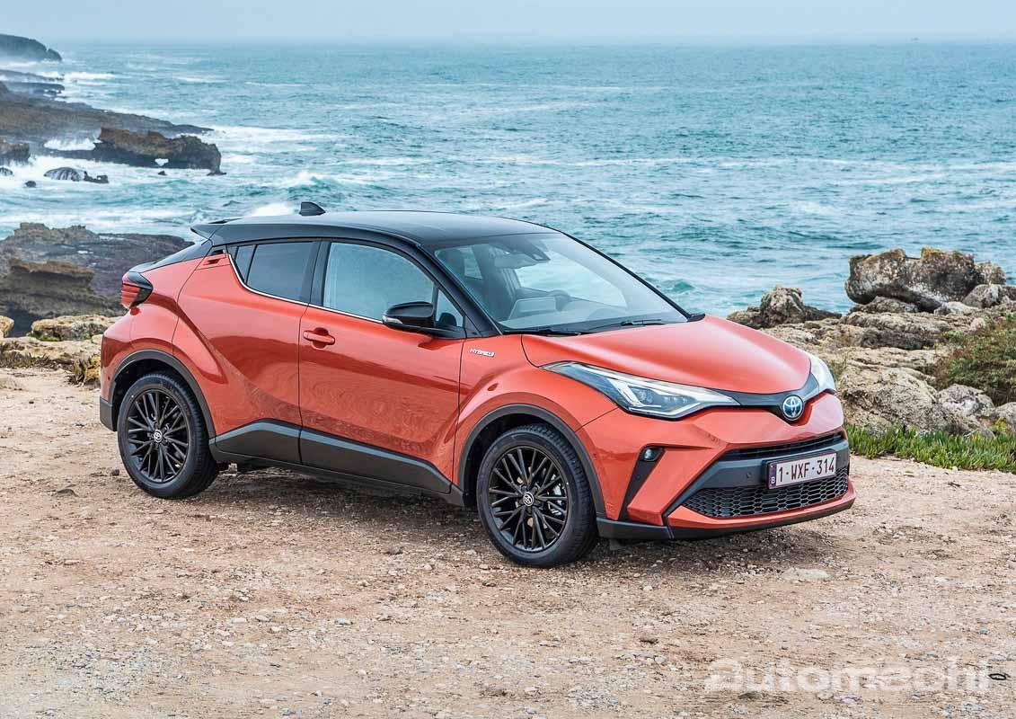 Toyota C-HR 小改款将进军泰国,只提供 Hybrid 选项