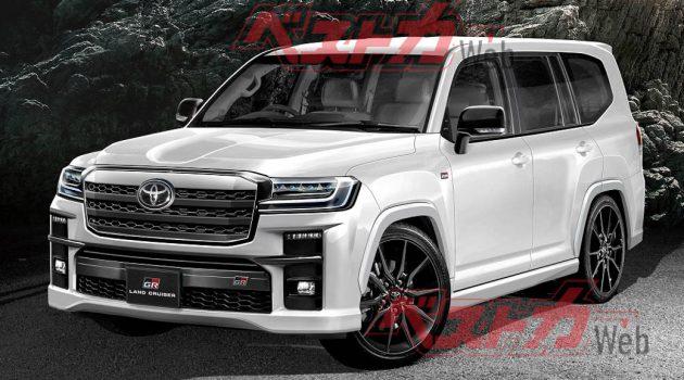 2022 Toyota Land Cruiser 确定追加 Gazoo Racing Sport 版本!
