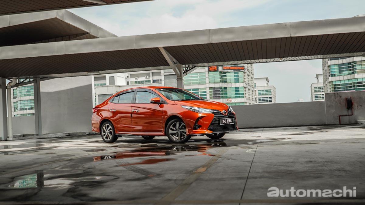 2021 Toyota Vios G ,一个星期使用感想分享