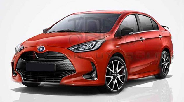 Toyota Yaris Sedan 或贴牌 Suzuki Ciaz 销售