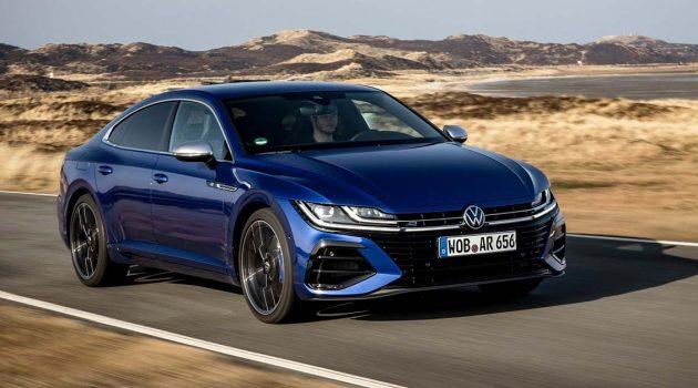 Volkswagen Arteon R 正式上市,4.9秒就可破百!