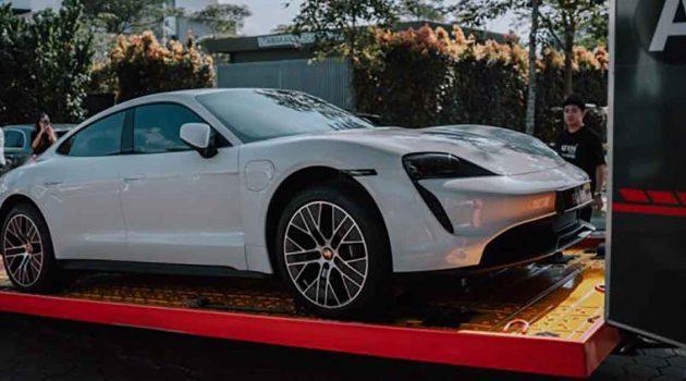 Porsche Taycan 的交车仪式原来是那么隆重的!