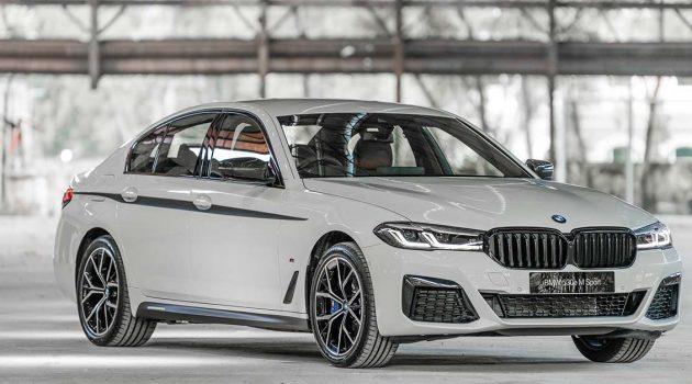 2021 BMW 5 Series 正式登场,售价从RM 334,353.95起跳