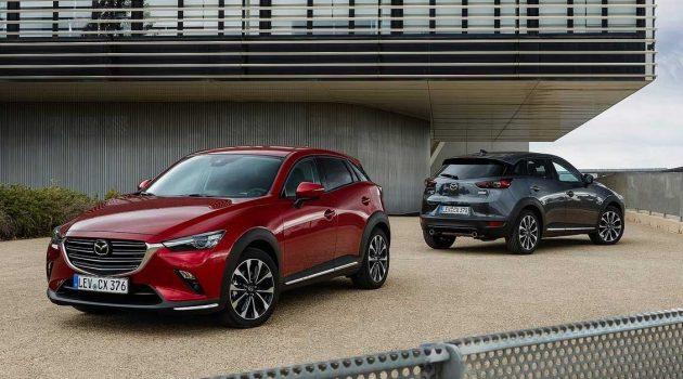 2021 Mazda CX-3 ,配备升级的运动SUV