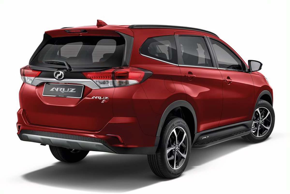 2021 Perodua Aruz 升级版登场,价格维持一样