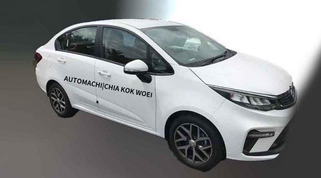 2021 Proton Persona 实车照曝光,搭新LED头灯组