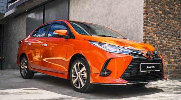 2021 Toyota Vios & Yaris 月供+保养算一算!