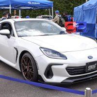 2022 Subaru BRZ STI 实车日本亮相,超大尾翼上身!