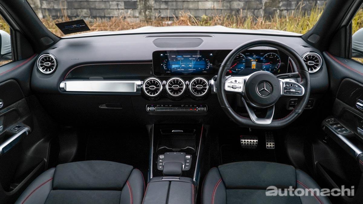 Mercedes-Benz GLB250 ,7人座豪华SUV(图库)