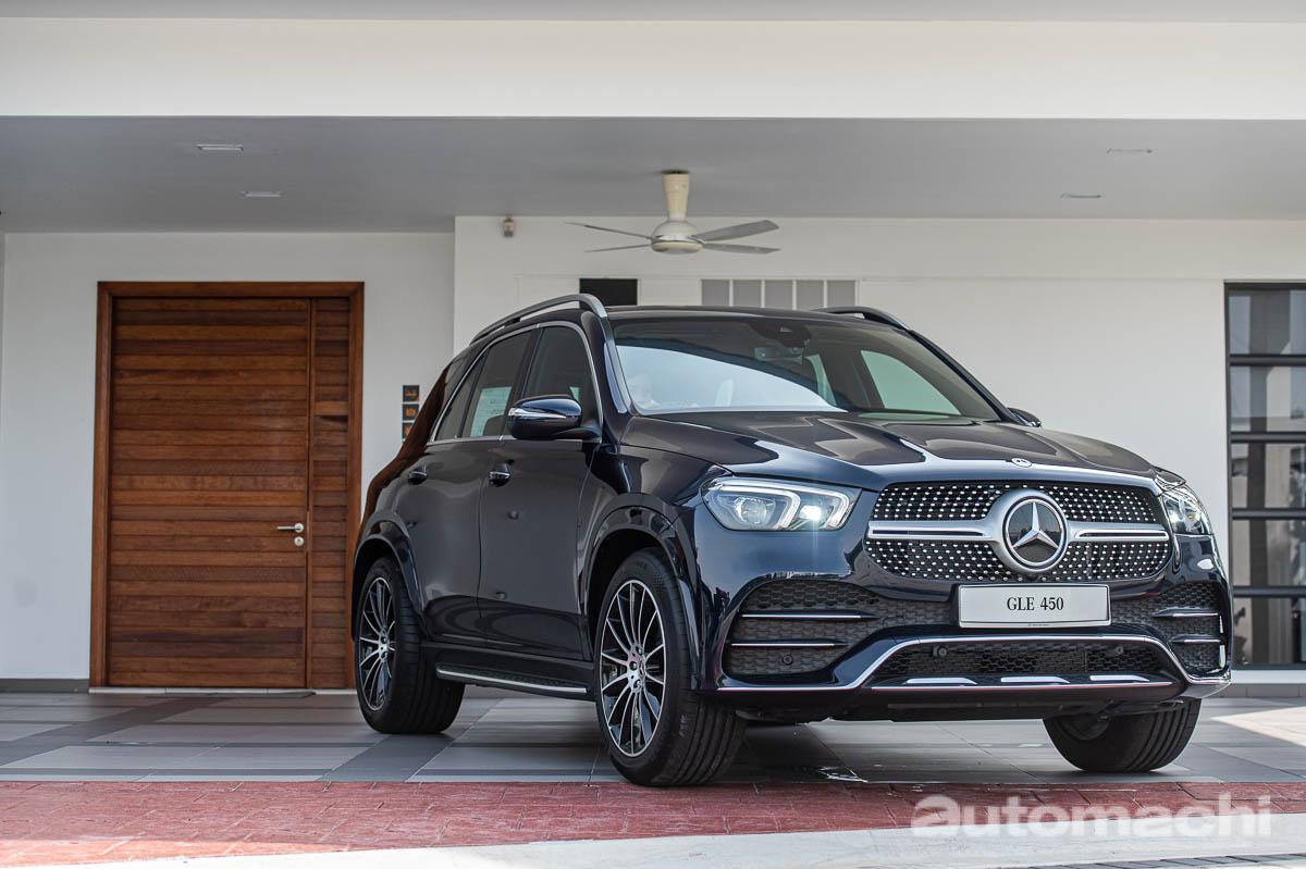 Mercedes-Benz GLE450 4MATIC AMG Line CKD 售价RM 475,501.23!