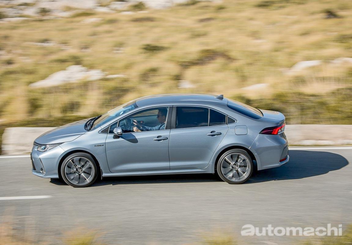 Toyota Corolla Altis 混合动力版本年末 CKD 登场?