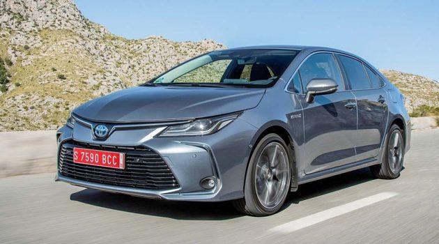 Toyota Corolla Altis 混合动力版本年末 CKD 登场(影片)?