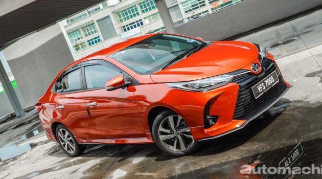 2021 Toyota Vios,配备最满的B-Segment Sedan之一!