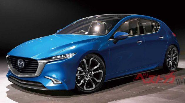 Mazda2 大改款车型或将成为 Yaris 双生兄弟