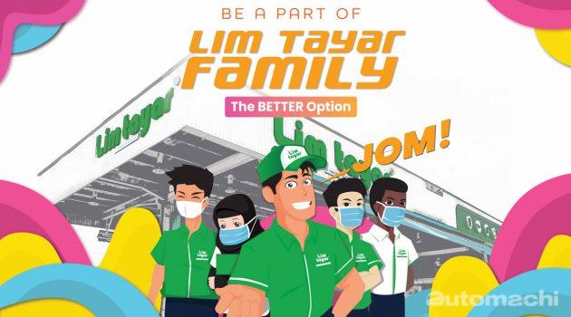 Lim Tayar Family 连锁轮胎店计划欢迎你加盟!