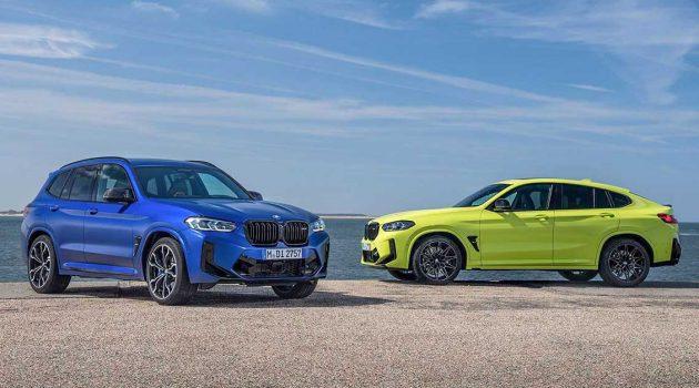 2021 BMW X3 和 X4 小改款正式发布