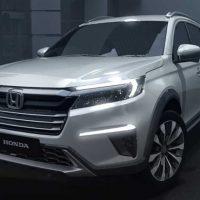 2022 Honda BR-V 信息曝光,顶级版将有 Honda Sensing ?