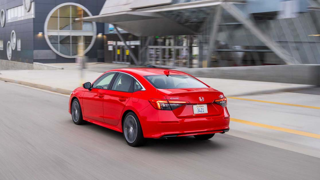 2022 Honda Civic ,进步在哪里?(图库)